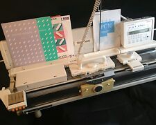 Silver reed electronic knitting machine package SK 840 + SRP60N + PC10+YC6+AG24