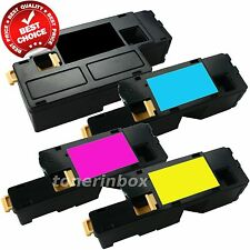 4 Pack 1250 Color Toner Set for Dell Laser 1250 1250c 1350cnw 1355cn 1355cnw