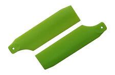 KBDD Neon Lime 61mm Tail Rotor Blades - Trex 450 Blade 450 X #4023