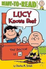 Lucy Knows Best (Peanuts)-ExLibrary