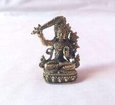 Manjushree Mini Tibetan Deity Statue