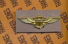 USN Navy Naval Aviatior Pilot Stabrite Badge Award Vanguard