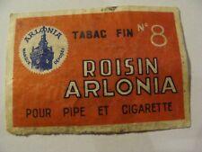 Etiquette Allumette - Tabac - ROISIN ARLONIA - Belgium (142)