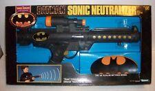"""1990 Batman 19"""" Sonic Neutralizer Kenner Dark Kniht Collection NIB"""