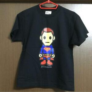 A BATHING APE APEE x DC Comics Collabo Super man TEE Size S Ladies Rare