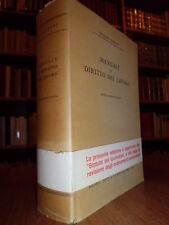 Manuale di Diritto del Lavoro. Giuliano Mazzoni  1971