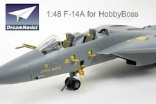 Dream Model 1/48 #2014 F-14A Tomcat Detail Up Etching Parts for Hobby Boss