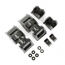 Jeep Wrangler JK Supporto Cofano Set Cofano Nero Alluminio Regolabile