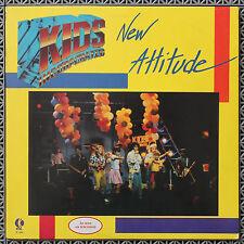 Kids Incorporated - New Attitude vinyl LP 1986 K-TEL NU 1960 Fergie, Martika