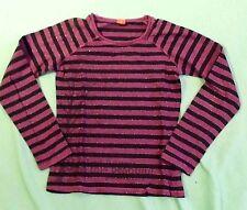Gestreifte s.Oliver Mädchen-Tops, - T-Shirts & -Blusen aus 100% Baumwolle