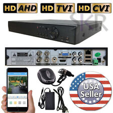 Sikker Standalone 4 CHANNEL Full HD 720P 960H DVR Video Security Camera System