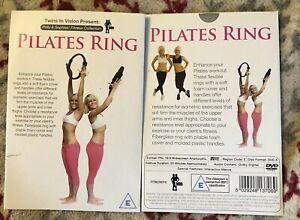 New Polly & Sophie PILATES RING DVD,exercise At Home,gym,core,pelvic Floor,tone