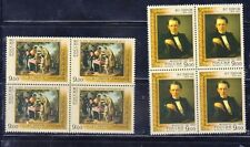 Russia 2009 Mi.#1532-33 175th anniversary of V.G. Perov set 2 stamps in bl.of 4