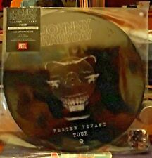 Johnny Hallyday Maxi 45Tours picture disc Rester Vivant Tour  2017