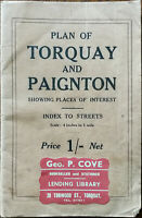 Plan of Torquay and Paignton, S. A Baker, Torwood Street, Torquay