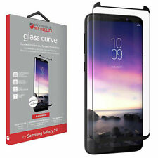 ZAGG Samsung Galaxy S9 InvisibleShield Glass Curved Screen Protector Black Trim