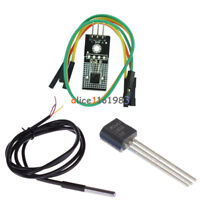 LM35D LM35DZ Waterproof Temperature Probe Line 1M/ 4-30V Sensor Module/ IC TO-92