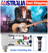 Guitar Learning System Teaching Practrice Aid Chord Buddy Fingertip Protectors