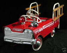 Vintage Murray Fire Truck, Kids Pedal Car, Flat Flexible Refrigerator Magnet