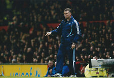 Nigel PEARSON SIGNED Autograph 12x8 Photo AFTAL COA Leicester City MANAGER
