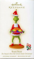 2007 Hallmark DR SEUSS THE GRINCH ROAST BEAST Ornament