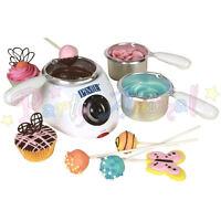 PME Elettrico Cioccolato Melting Pot 3 pentole & 2 calore Impostazioni. Cake pop