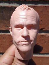 1/4 Scale figure custom The Joker head sculpt Hot Toys Enterbay compatible UP3