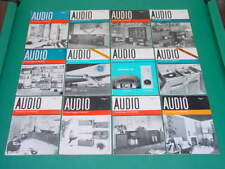 1961 Audio Magazines, Complete Year, 12 Issues