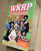 WKRP in Cincinnati: The Complete Series 1-4 + Bonus (DVD, 2014, 12-Disc Set)