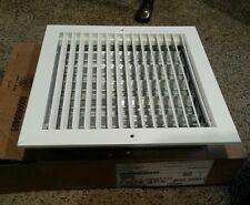 Titus 12 x 12 vent diffuser white new in box 350rl