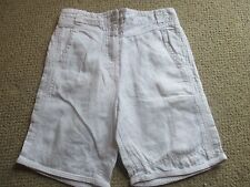 Little Girls White Shorts Age 6 years - Adams