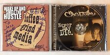 Creature : Never Say Die [CD] * SIGNED BY ARTIST * Very Good+ Cond. FREE UK POST