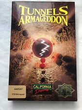 """Tunnels of Armageddon by California Dreams for AMIGA .Vintage Software Game 3.5"""""""
