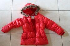 manteau doudoune fille 3 ans rouge Kidkanaï