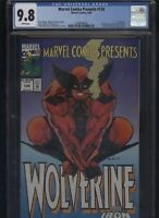 Marvel Comics Presents #134 CGC 9.8 Wolverine GHOST RIDER 1993