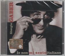 GIORGIO GABER IO NON MI SENTO ITALIANO CD SIGILLATO!!!