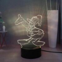 Donald Duck Illusion LED Lamp, 3D Light Experience - 7 Colors Options
