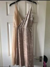 Next Size 14 Dress Crushed Velvet Sequins Gorgeous!! Bnwt Christmas