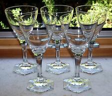 5 edle und wertige Gläser von Moser Karlsbad signiert
