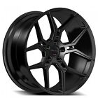 ?? 4rims/set 20 Staggered Giovanna Wheels Haleb Black Popular Rims