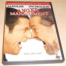Anger Management DVD Widescreen Special Edition Jack Nicholson, ADAM Sandler