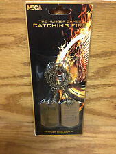 KATNISS Metal Dog Tags / The Hunger Games Catching Fire **Brand New!