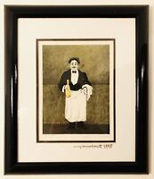 Guy Buffet Limited Edition Lithograph Print, Framed, Signed