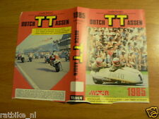 1985 FLYER DUTCH TT ASSEN 1985 SUPER VIDEO BAND LEE VAN DAM
