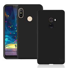 For Xiaomi Mi Mix Mix2 2S Black Slim Matte Rubber Silicone case cover