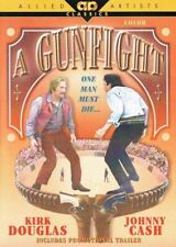 A Gunfight - Kirk Douglas -Johnny Cash - Karen Black - DVD - NEW