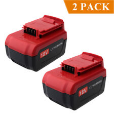 2-Pack 18V 4000mAh Lithium ion Battery for Porter Cable 18V PC18B PC18BL PC18BLX