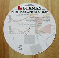 Luxman PD-288 / PD-289 / PD-370 & PD-375 Tonearm Cartridge Alignment Protractor