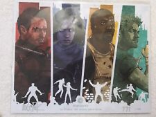 BAM BOX  THE DEFENDERS LOGAN PACK SIGNED PRINT W/ COA #1500  EXCLUSIVE