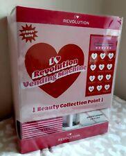 I Heart Revolution Vending Machine 12 Gifts Make Up Beauty Set